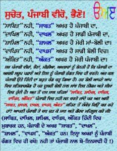 Punjabi Boli
